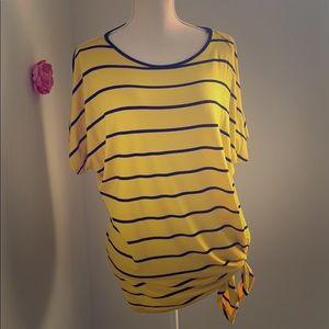 Michael kors summer tunic blouse medium/large